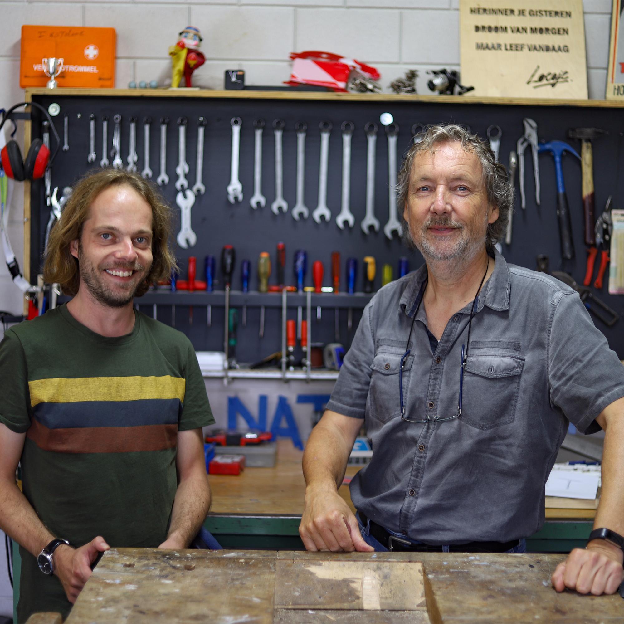 Arjan Veenhuizen en Martin Gosenshuis